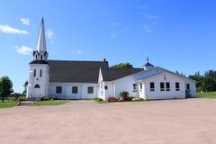 农村教会 免版税库存照片