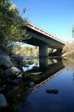 农村桥梁的高速公路 免版税库存图片