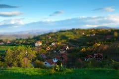 农村横向 图库摄影