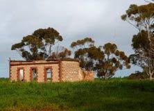 农村澳大利亚人废墟 图库摄影