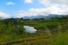 农村生活在北越南,河江市 免版税库存图片