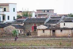 农村生活在华南 库存照片