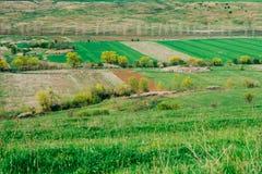 农村的乡下 库存照片