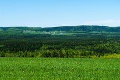 农村的农场土地 免版税图库摄影