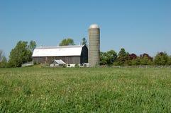 农村的农场 库存照片