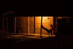 农村的印度 免版税库存照片