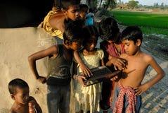 农村的发展方案 库存图片