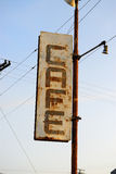 农村的咖啡馆 库存图片