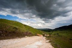 农村的土路 库存图片