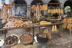 农村的市场 免版税库存照片