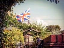 农村的庭院 库存图片