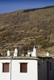 农村的房子 图库摄影