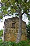 农村的房子 免版税图库摄影