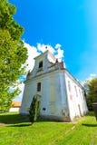 农村的教会 库存照片