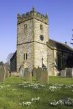 农村的教会 免版税库存照片