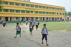 农村的教育 免版税图库摄影