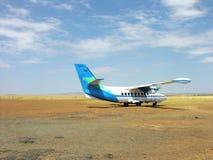 农村的机场 库存照片