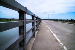 农村的桥梁 库存图片