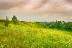 农村的横向 俄国 库存照片
