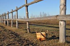 农村的横向 俄国 免版税库存照片