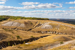 农村的横向 别尔哥罗德州地区 俄国 库存图片