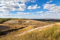 农村的横向 别尔哥罗德州地区 俄国 图库摄影
