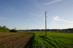 农村的横向 库存照片