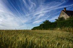 农村的法国 免版税库存图片