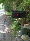 农村的邮箱 免版税图库摄影