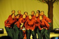 农村老妇人舞蹈2011舞蹈课毕业音乐会党 库存照片