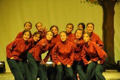 农村老妇人舞蹈2011舞蹈课毕业音乐会党 免版税库存图片