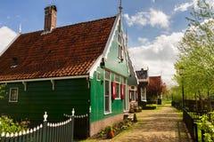 农村荷兰风景,荷兰 免版税库存照片