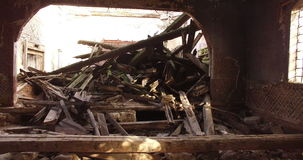 农村被放弃的教会 影视素材