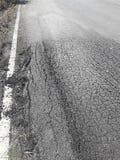 农村路恶化 库存图片