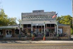 农村邮局在得克萨斯 免版税库存图片