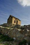 农村阿拉伯的小屋 免版税库存照片