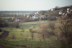 农村风景摄影 库存照片