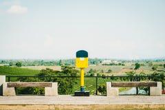 农村风景,清莱,泰国 免版税库存图片