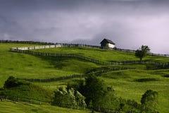 农村风景 免版税图库摄影