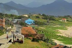 农村马达加斯加,口岸法国皇太子 免版税库存照片