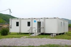 农村医疗中心在村庄 库存照片