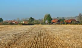 农村chiltern英国小山的横向 库存照片