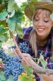 农民妇女年轻人 免版税库存照片