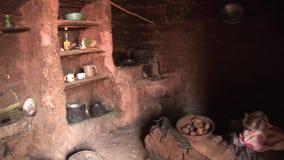 农民小屋在秘鲁