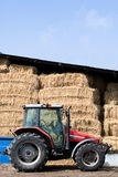 农用拖拉机围场 库存图片