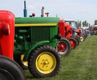 农用拖拉机 免版税库存照片