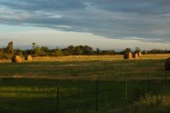 农田在法国 库存图片