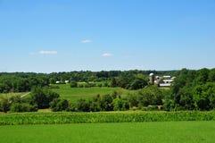 农田宾夕法尼亚 免版税库存照片