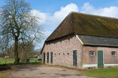 农舍有历史的荷兰 免版税图库摄影