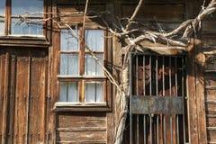 农舍的墙壁- 17 免版税库存照片